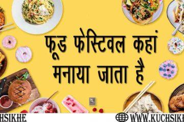 food festival kaha manaya jata hai